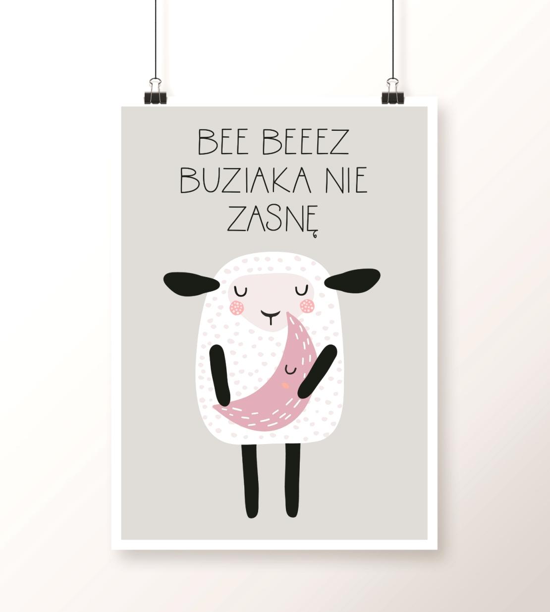 plakat z owcą
