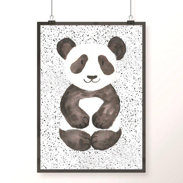 plakat z pandą