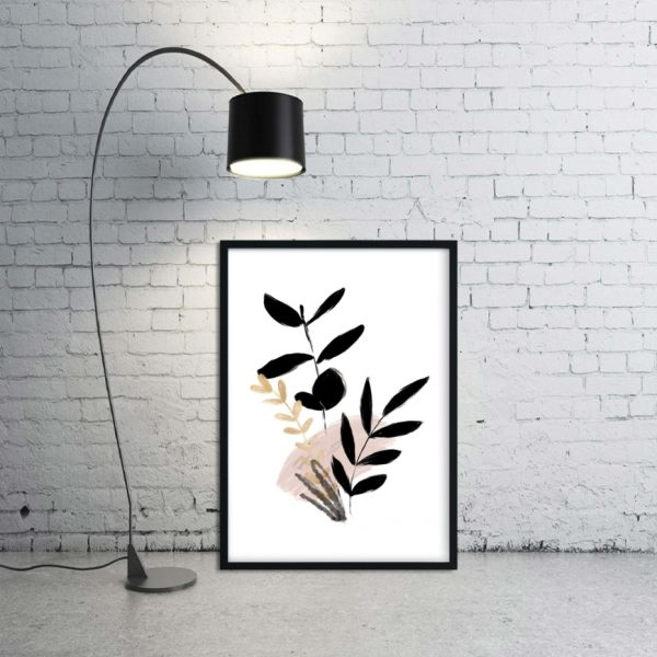 roślinna abstrakcja