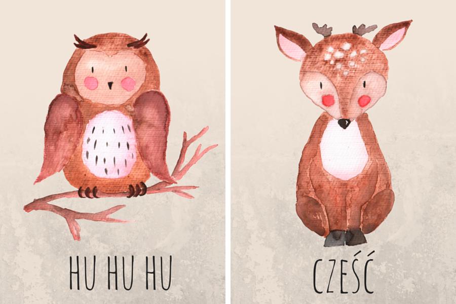 Plakaty do dziecięcego pokoju – darmowe projekty do druku