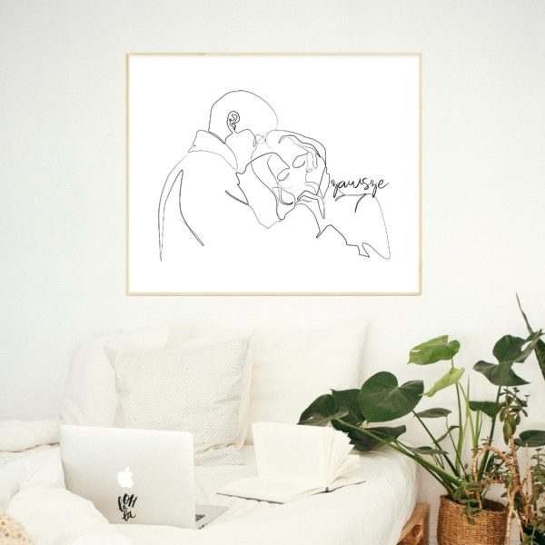 plakat dla pary